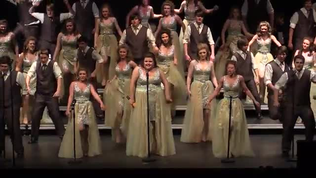 South Jones High Choir - Company Performance at 2014 South Central Classic in Homewood, AL
