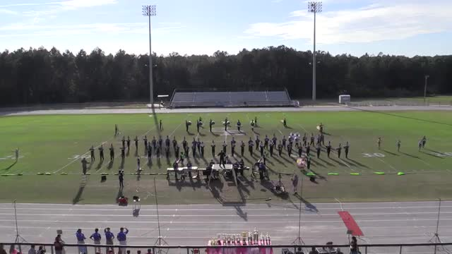 Elbert County  High Band at 2013 Georgia Marching Band Series Championship in South Effingham, Georgia