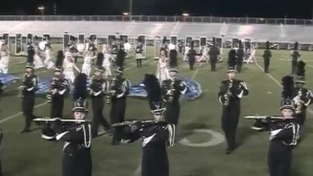 Hoover High Band at 2012 Hoover Invitational MBF in Hoover, Alabama