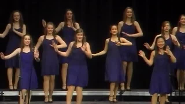 Oak Mountain High Choir -Class Act- Performance at 2010 Diamond Classic in Albertville, AL
