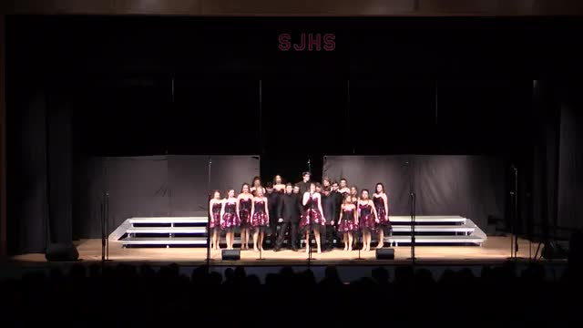 Pisgah High Choir - Innergy Performance at 2014 South Jones Show Choir in Ellisville, MS