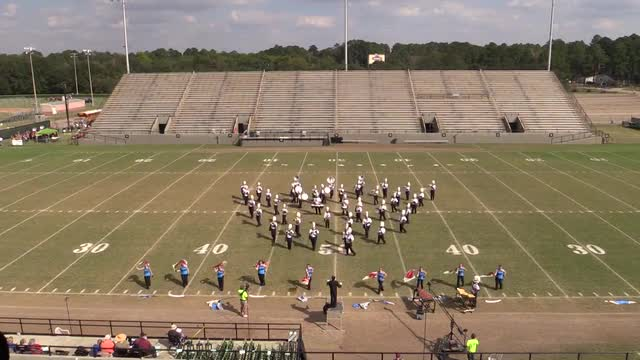 Chipley High Band - Wide Angle ONLY - at 2013 Southern Showcase in Dothan