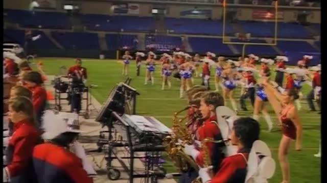 Vestavia Hills High Band at 2010 Hoover Invitational MBF in Hoover, Alabama