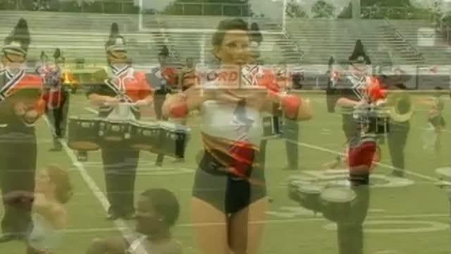 Alexandria High Band at 2012 Mid South MBF in Gadsden, Alabama
