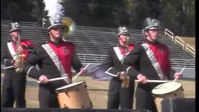 Pike County High Band at 2012 Old South MBF in Newnan, Georgia