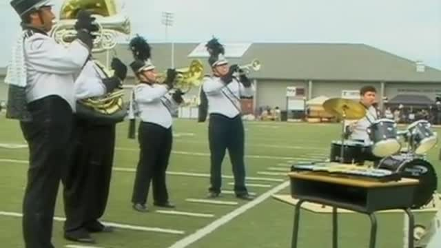 Tuscaloosa Christian High Band at 2012 Mid South MBF in Gadsden, Alabama