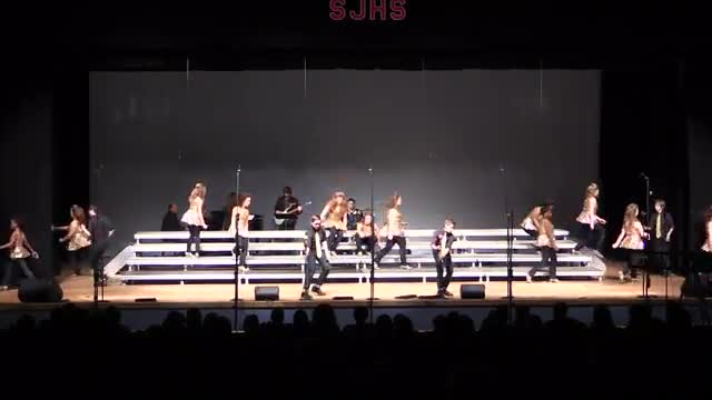 Northeast Jones Middle Choir - Tiger Vibe Performance at 2014 South Jones Show Choir in Ellisville, MS
