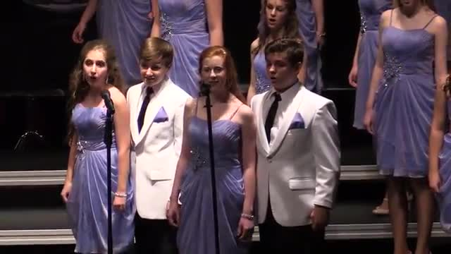 Jackson Prep Choir- Fusion Performance at 2014 South Central Classic in Homewood, AL