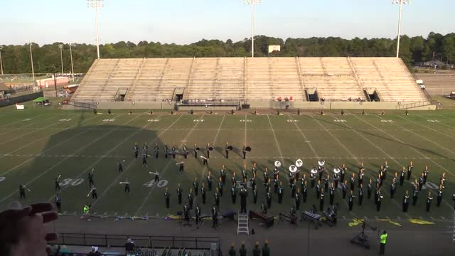 Lincoln High Band - Florida - Wide Angle ONLY - at 2013 Southern Showcase in Dothan