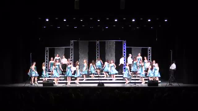 Bradley Central High Choir Vocal Motion Performance at 2014 Diamond Classic in Albertville, AL