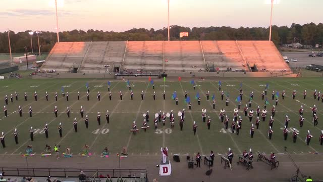 Daleville High Band - Wide Angle ONLY - at 2013 Southern Showcase in Dothan