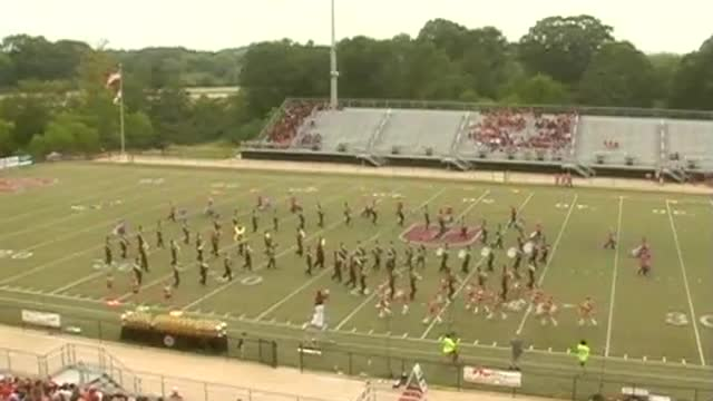 Sardis High High Band at 2012 Mid South MBF in Gadsden, Alabama