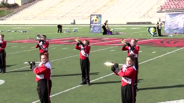 Ohatchee High Band at 2013 JSU Contest of Champions MBF in Jacksonville, Alabama