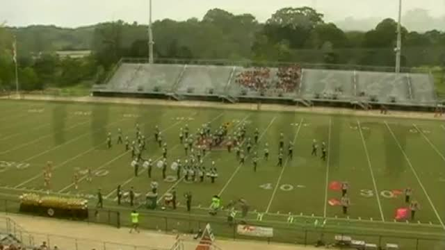 Holly Pond High Band at 2012 Mid South MBF in Gadsden, Alabama