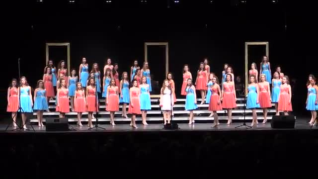 Homewood High Choir-Legacy Performance at 2014 Diamond Classic in Albertville, AL