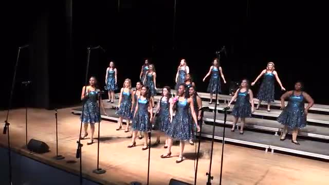Northwest Rankin High Choir - Renaissance Performance at 2014 South Jones Show Choir in Ellisville, MS