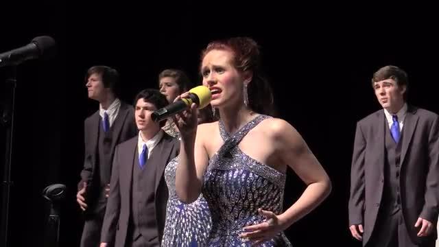Biloxi High Choir - Sound Surge Performance at 2014 West Jones Show Choir in Laurel, MS