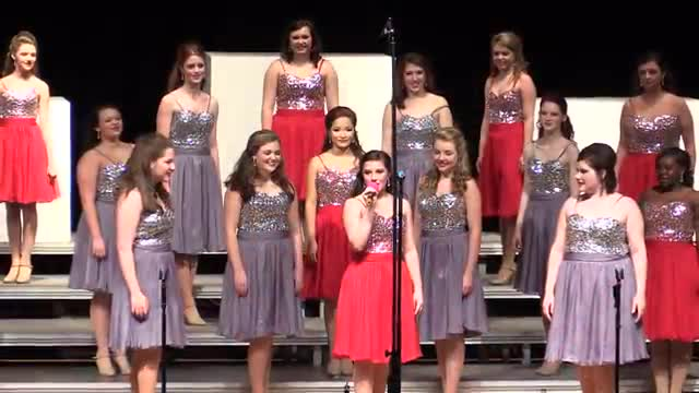 West Jones High Choir - Revolution Performance at 2014 South Jones Show Choir in Ellisville, MS