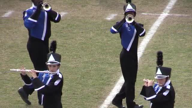 Burke County  High Band at 2013 Georgia Marching Band Series Championship in South Effingham, Georgia