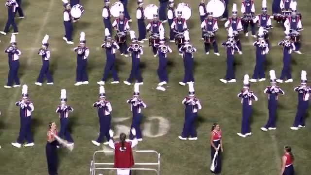 University of South Alabama Band at 2013 Southern Showcase in Dothan