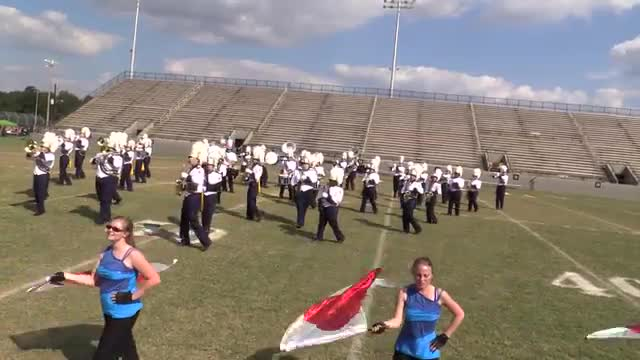 Chipley High Band at 2013 Southern Showcase in Dothan
