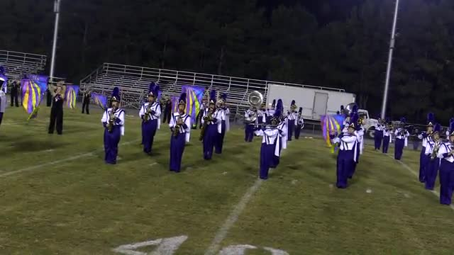 Springville High Band at 2013 St. Clair Expo MBF in Moody, Alabama