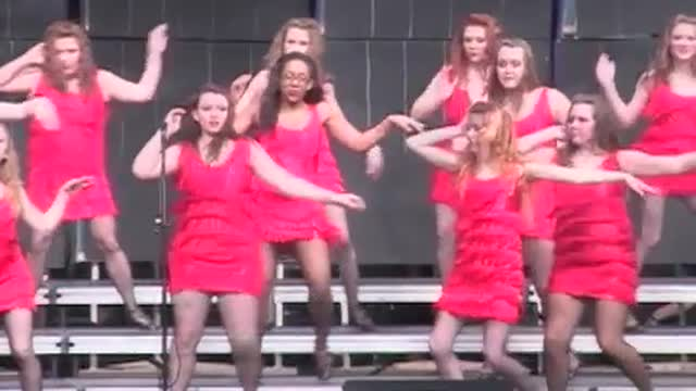 Cleveland High Choir -Renaissance-Performance at 2013 Diamond Classic in Albertville, AL