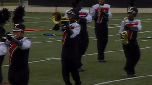 Talladega High Band at 2008 Mid South MBF in Gadsden, Alabama