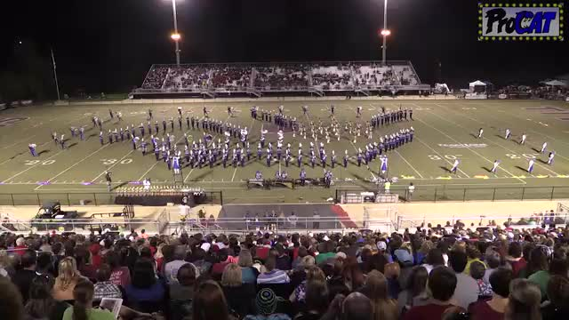 Chelsea High Band at 2014 Mid South MBF in Gadsden, Alabama