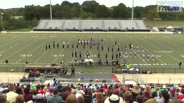 Etowah High Band at 2014 Mid South MBF in Gadsden, Alabama