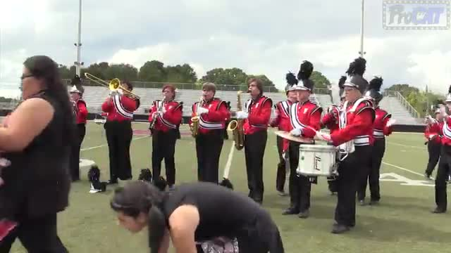 Fyffe High Band at 2014 Mid South MBF in Gadsden, Alabama