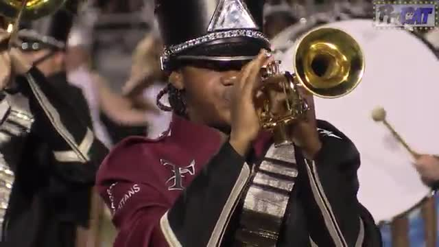 Gadsden City High Band at 2014 Mid South MBF in Gadsden, Alabama