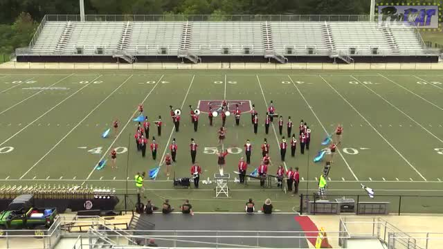 Gaston High Band at 2014 Mid South MBF in Gadsden, Alabama