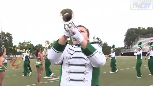 Hokes Bluff High Band at 2014 Mid South MBF in Gadsden, Alabama