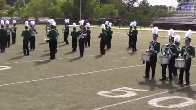 Holly Pond High Band at 2014 Mid South MBF in Gadsden, Alabama