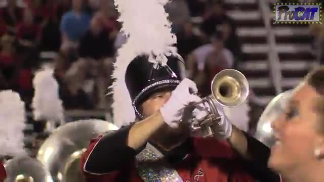Jacksonville State University Band at 2014 Mid South MBF in Gadsden, Alabama