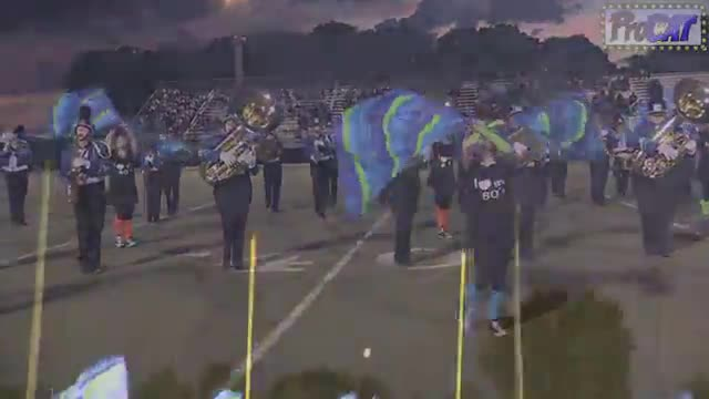 Northwest Whitfield High Band at 2014 Mid South MBF in Gadsden, Alabama