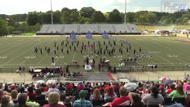 Pinson Valley High Band at 2014 Mid South MBF in Gadsden, Alabama