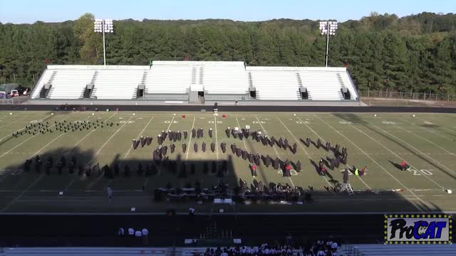 Roswell High Band at 2014 Eagle's Nest Invitational MBF in Suwanee,Georgia WIDE ANGLE ONLY