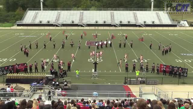 Sardis High Band at 2014 Mid South MBF in Gadsden, Alabama