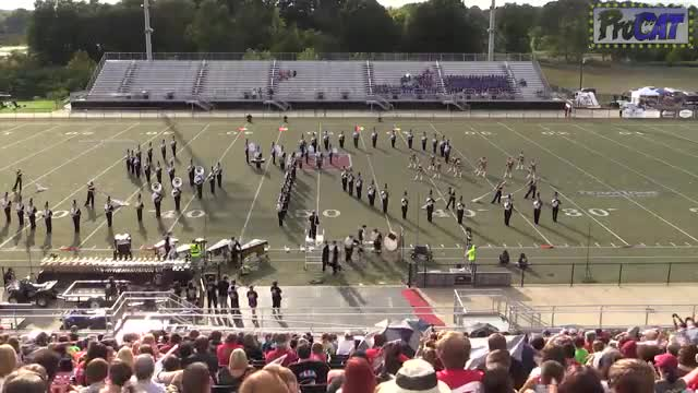 Scottsboro High Band at 2014 Mid South MBF in Gadsden, Alabama