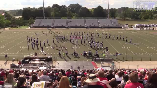 Springville High Band at 2014 Mid South MBF in Gadsden, Alabama