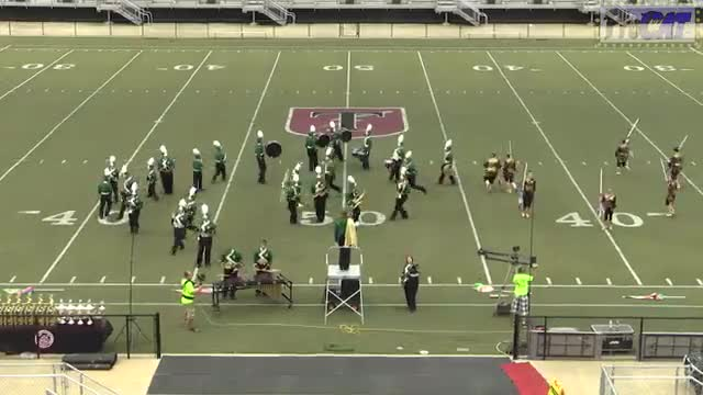 Sylvania High Band at 2014 Mid South MBF in Gadsden, Alabama