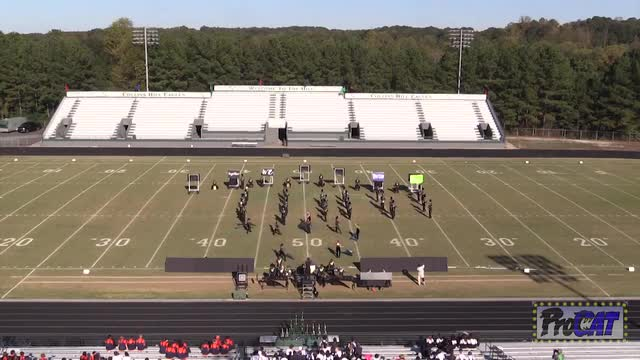 Wesleyan High Band at 2014 Eagle's Nest Invitational MBF in Suwanee,Georgia WIDE ANGLE ONLY