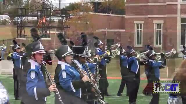 Burke County High Band at 2014 Georgia Marching Band Series Championship in Macon, Georgia