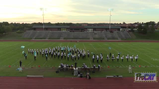 Cedar Shoals High Band at 2014 Oconee Classic MBF in Milledgeville, Georgia WIDE ANGLE ONLY