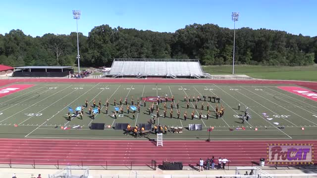 Cleveland High Band at 2014 Arrow Invitational MBF in Clinton, Mississippi WIDE ANGLE ONLY