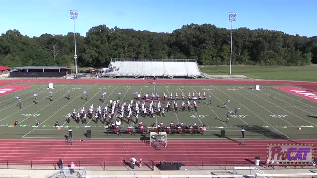 Clinton High Band at 2014 Arrow Invitational MBF in Clinton, Mississippi WIDE ANGLE ONLY