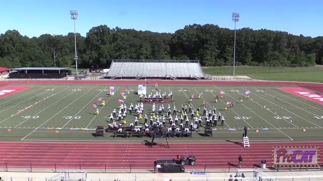 Germantown High Band at 2014 Arrow Invitational MBF in Clinton, Mississippi WIDE ANGLE ONLY