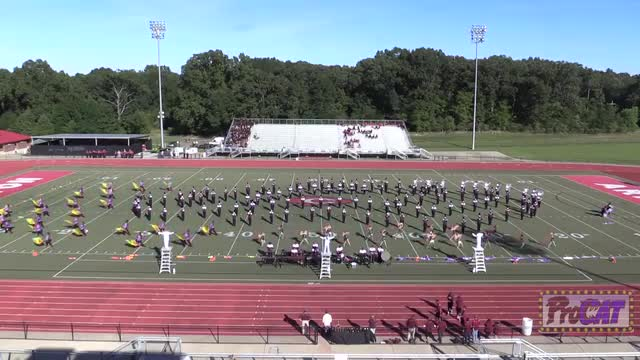 Hinds Community College Band at 2014 Arrow Invitational MBF in Clinton, Mississippi WIDE ANGLE ONLY